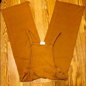 Tan Overalls/Jumper Sz. S